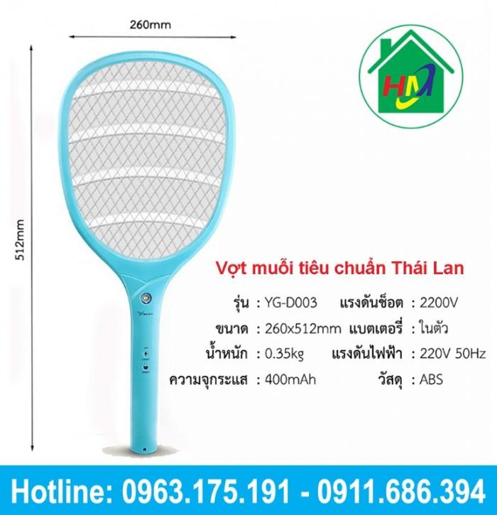 Vợt Bắt Muỗi Thái Cao Cấp YAGE YG-D0031