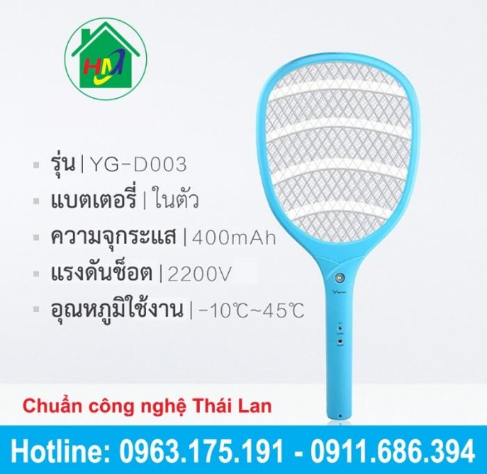 Vợt Bắt Muỗi Thái Cao Cấp YAGE YG-D0030