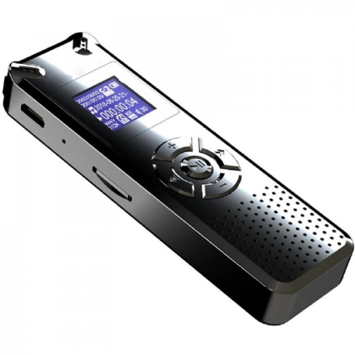 Máy ghi âm Siêu nhỏ Suntech V91-8GB Kết hợp với tính năng nghe nhạc MP33