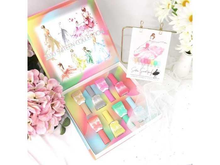 nail candy gel korea2