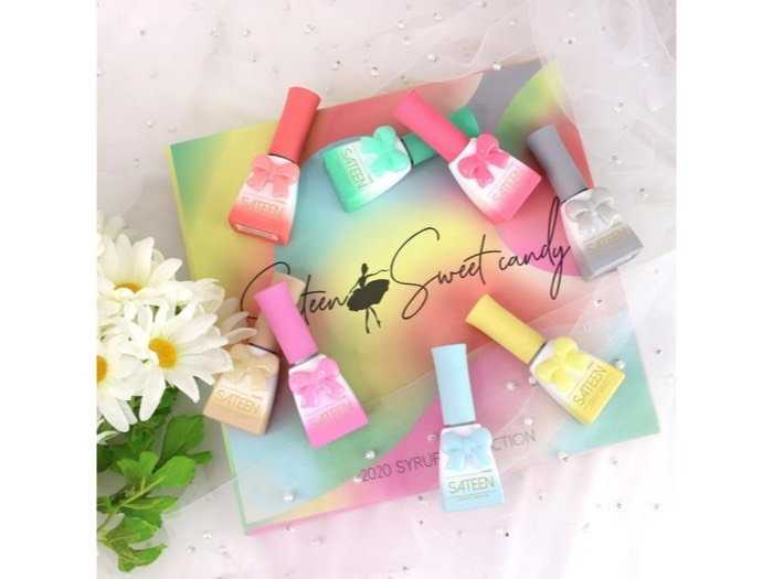 nail candy gel korea3