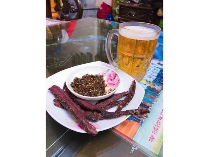 Thịt trâu gác bếp Sơn La1