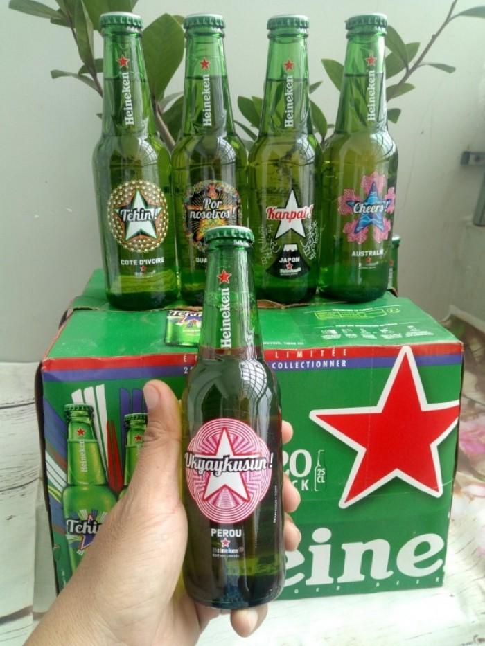 Bia Heineken Pháp 24 chai, 250ml. Giá 440.000đ