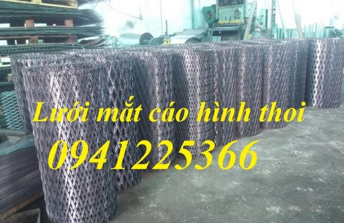 Xưởng sản xuất lưới dập giãn, lưới thép kéo giãn, hàng có sẵn và làm theo yêu cầu3