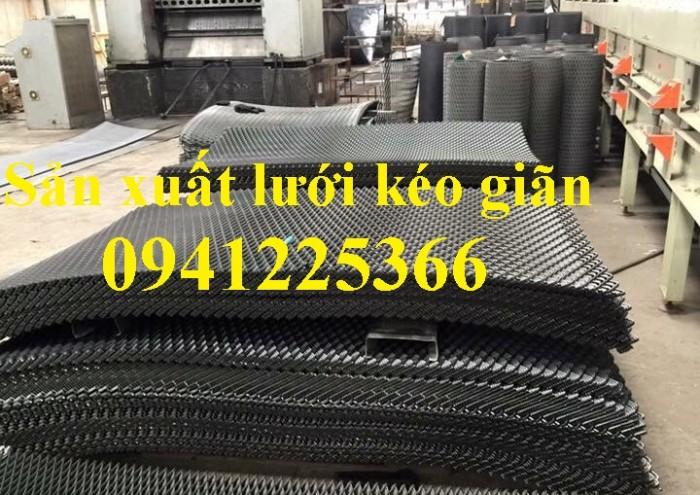 Xưởng sản xuất lưới dập giãn, lưới thép kéo giãn, hàng có sẵn và làm theo yêu cầu5