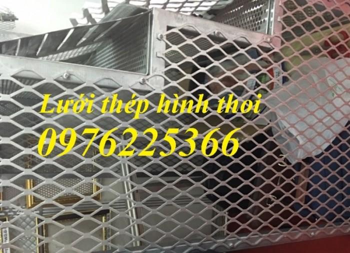 Xưởng sản xuất lưới dập giãn, lưới thép kéo giãn, hàng có sẵn và làm theo yêu cầu6