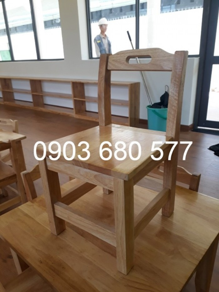 Chuyên cung cấp bàn ghế GỖ trẻ em cho trường mầm non, lớp mẫu giáo, nhóm trẻ15