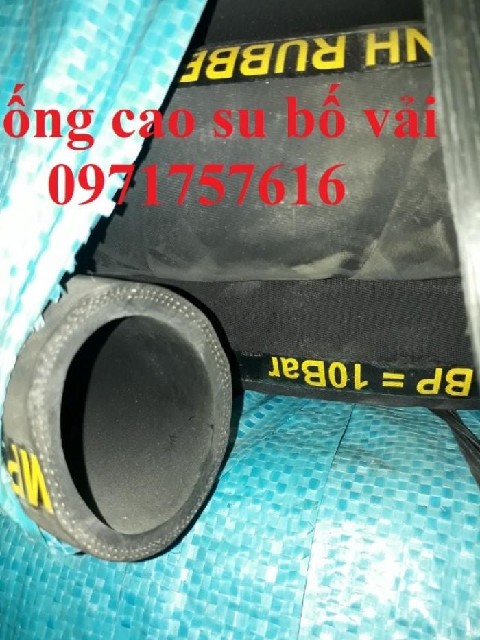 Phân phối ống cao su bố vải lõi thép giá rẻ4