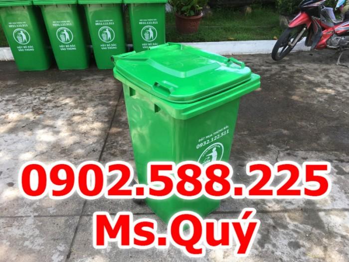 Thùng rác công cộng 240l, giá thùng rác 120l8