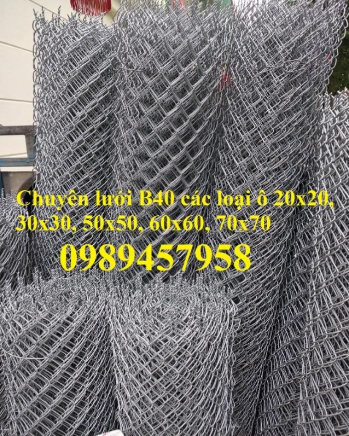 Lưới thép B40 mạ kẽm, B40 bọc nhựa khổ 2m2, 2,4m giá tốt tại Hà Nội9