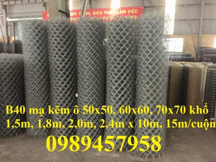 Lưới thép B40 mạ kẽm, B40 bọc nhựa khổ 2m2, 2,4m giá tốt tại Hà Nội12