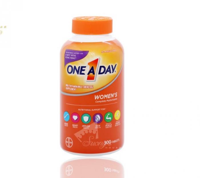 Vitamin Tổng Hợp Cho Nữ One A Day Women's Formula -Hàng Mỹ xách tay -Suong House 2