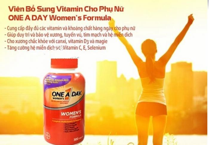 Vitamin Tổng Hợp Cho Nữ One A Day Women's Formula -Hàng Mỹ xách tay -Suong House 4