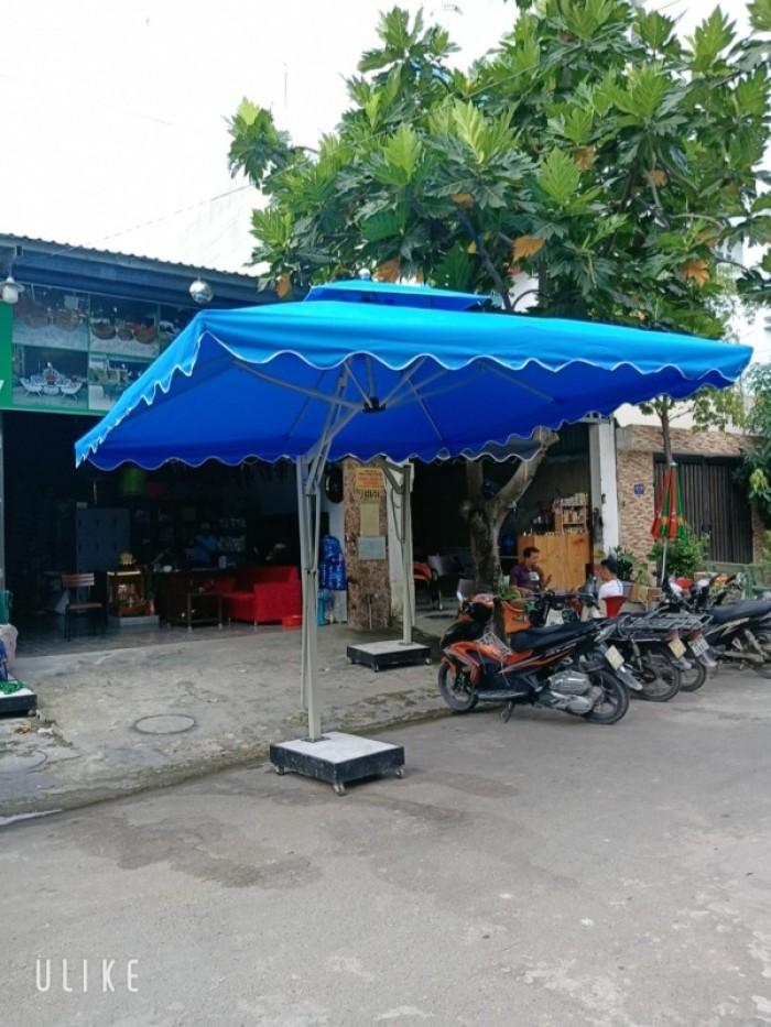 ô dù vuông đủ màu làm tại xưởng sản xuất ANH KHOA  97677890