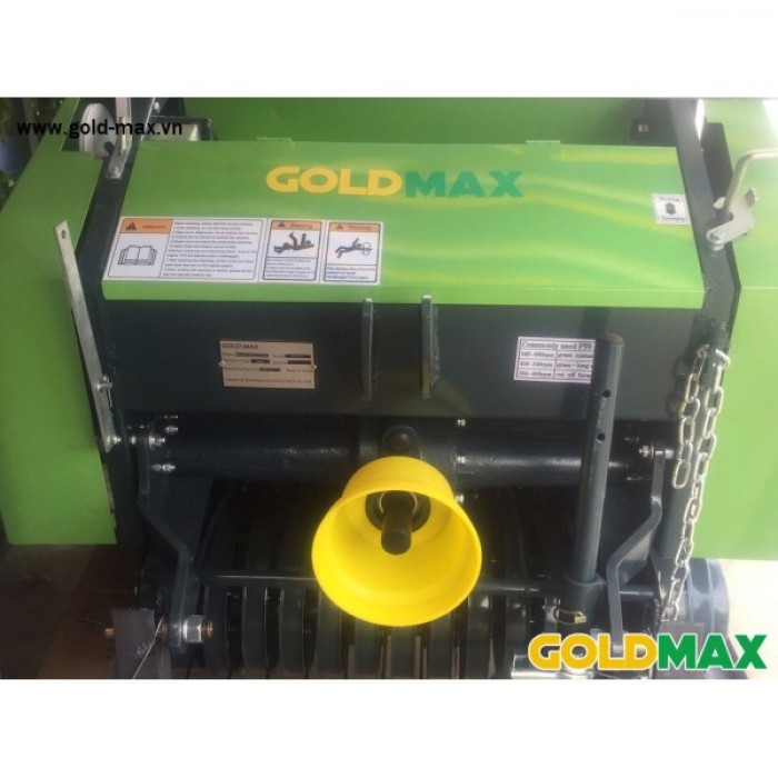 Máy cuốn rơm GoldMax nhập khẩu chất lượng giá tốt2