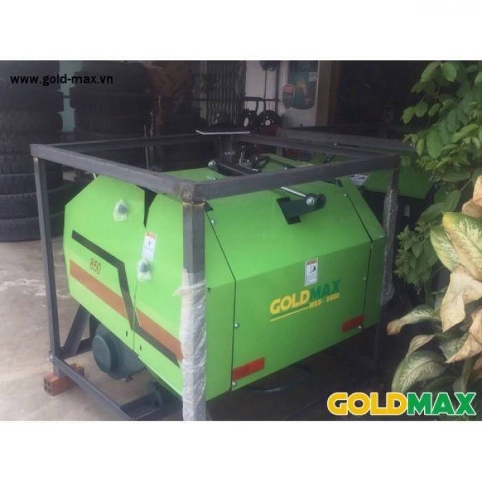 Máy cuốn rơm GoldMax nhập khẩu chất lượng giá tốt11