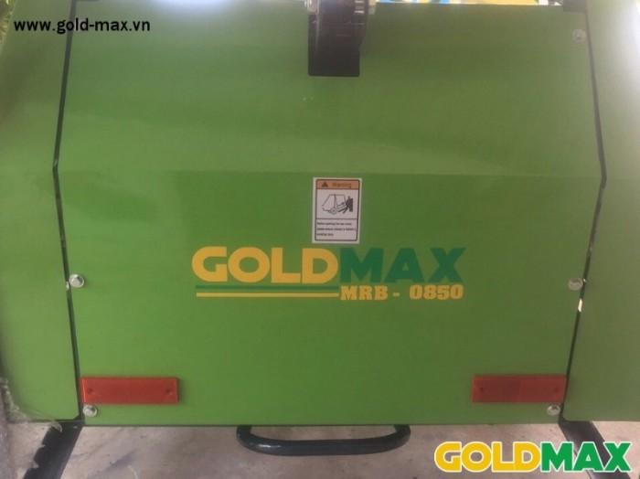 Máy cuốn rơm GoldMax nhập khẩu chất lượng giá tốt6