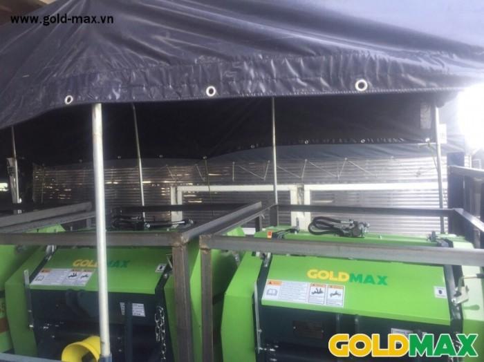 Máy cuốn rơm GoldMax nhập khẩu chất lượng giá tốt8
