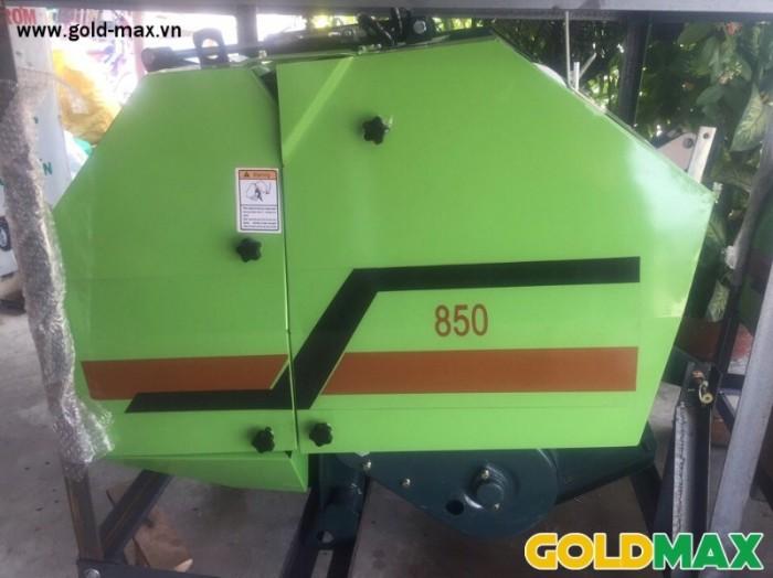 Máy cuốn rơm GoldMax nhập khẩu chất lượng giá tốt5