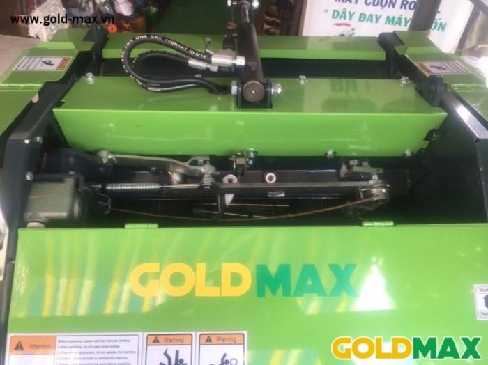 Máy cuốn rơm GoldMax nhập khẩu chất lượng giá tốt4