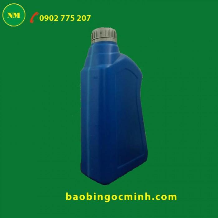 chai nhựa đựng dầu nhớt 2 lít 1