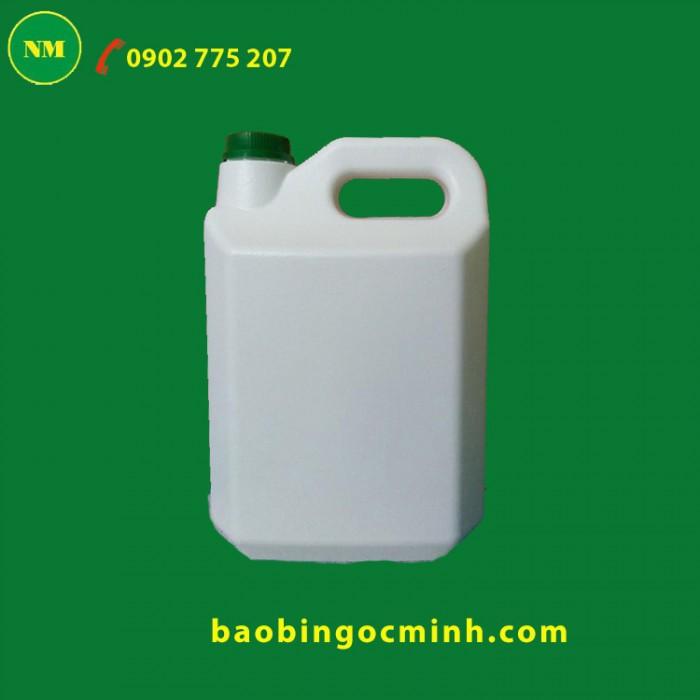 can nhựa 5 lít đựng hóa chất, chất lỏng4