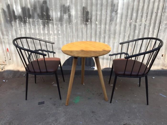Ghế sắt cafe rẻ đẹp, ghế Genny