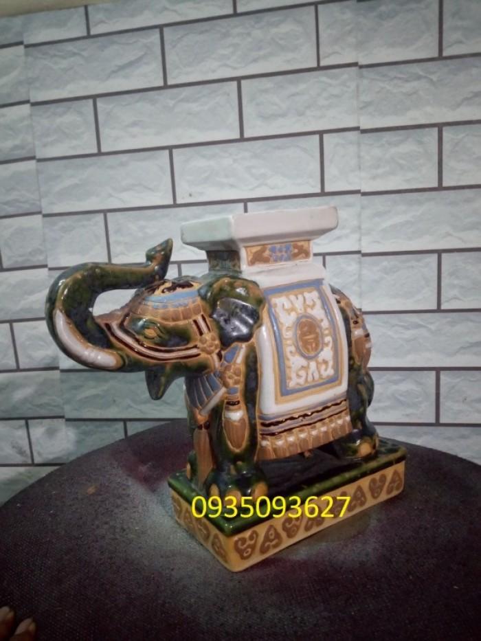 đôn voi xưa cao 25 cm1