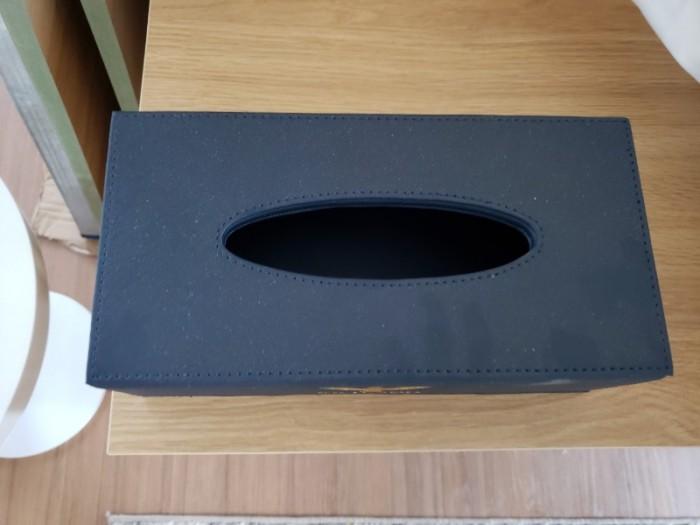 Sỉ hộp đựng khăn giấy bọc da khách sạn cao cấp - Thiết bị khách sạn Thiên An2