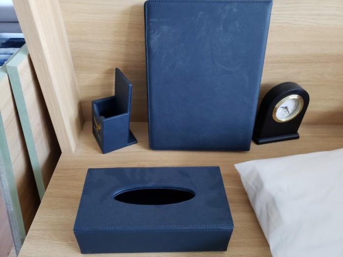 Sỉ hộp đựng khăn giấy bọc da khách sạn cao cấp - Thiết bị khách sạn Thiên An