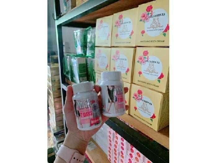 Viên uống giảm cân 7days Thái Lan3