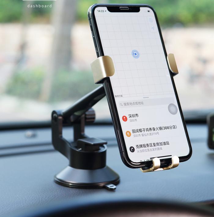 Giá đỡ Kẹp điện thoại trên xe hơi ROCK gravity vehicle center6