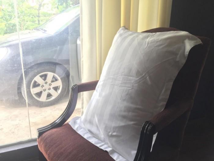 Bộ chăn ra gối đệm khách sạn 3 sao hàng gia công xưởng