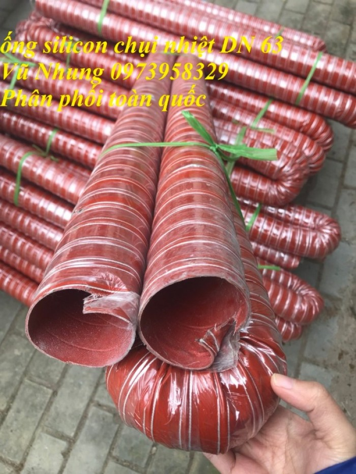 ống silicon chụi nhiệt D6317
