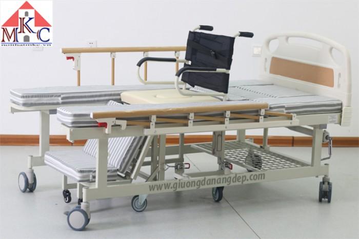 Các mẫu giường bệnh nhân đa năng MKC-Medical mới model 20204