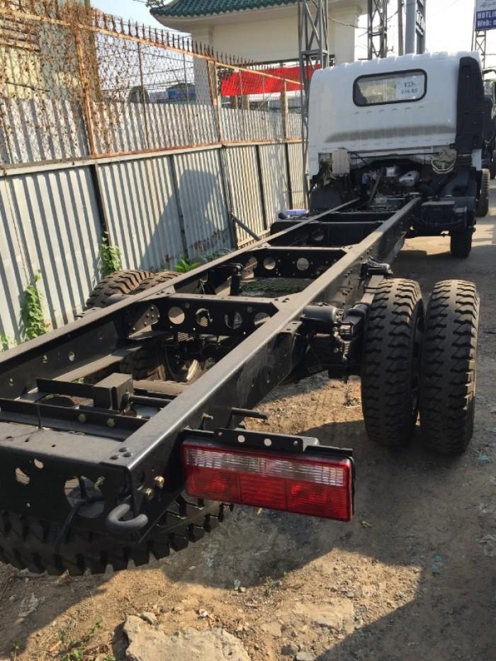 Xe tải Faw 8 tấn (7.3 tấn )| faw 7.8 Tấn động cơ hyundai thùng siêu dài. 9