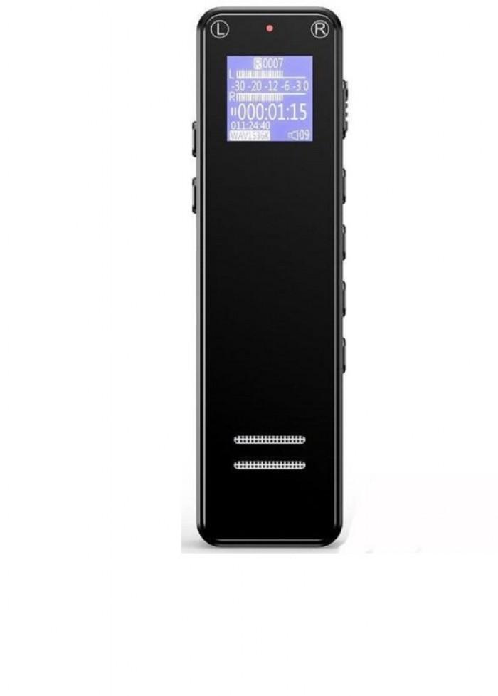Máy ghi âm Suntech V16-8G Vỏ kim loại bền bỉ, dễ dàng cầm nắm mà ít trơn trợt.3