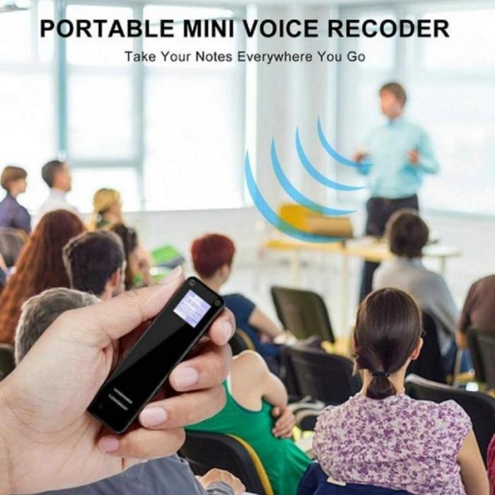 Máy ghi âm Suntech V16-8G Độ nhạy cao thiết kế microphone kép ghi đầy đủ âm thanh stereo2