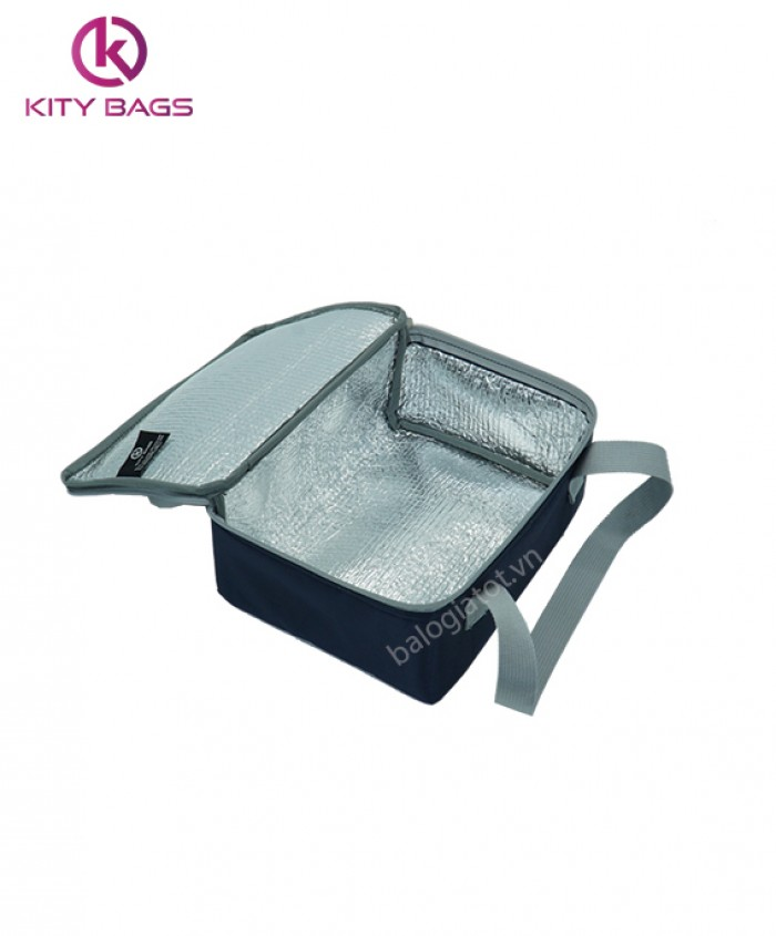 Túi giữ nhiệt cơm văn phòng in logo công ty0