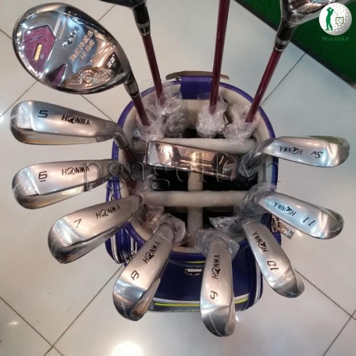 Bộ Gậy Golf Honma Beres E-06 3 Sao Ladies2