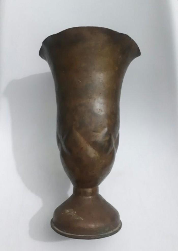 Bình đồng 105ly cao 30cm, miệng 18cm2
