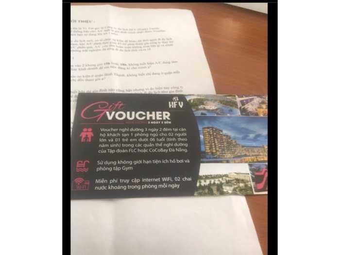 Tặng miễn phí voucher đi du lịch FLC0