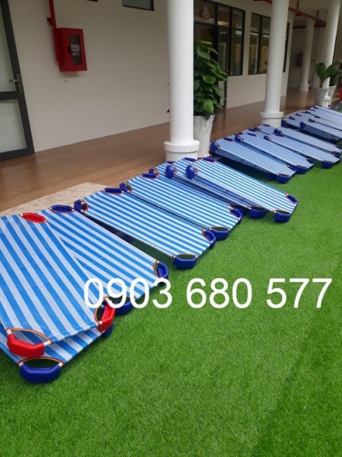 Chuyên bán sỉ và lẻ giường ngủ mầm non cho bé giá rẻ, chất lượng cao14