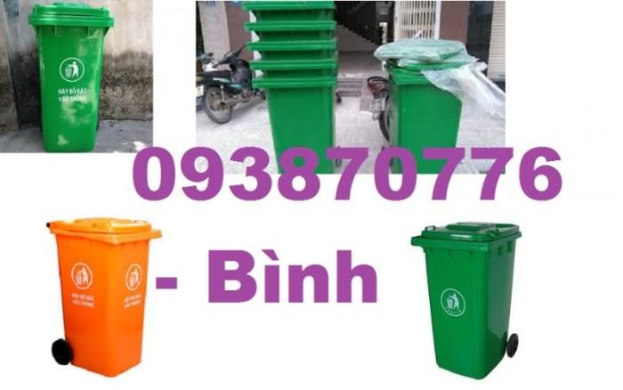 Thùng rác 240l, Thùng rác công cộng, Thùng rác nhựa màu xanh, Thùng chứa rác nhựa HDPE đảm bảo tiêu chuẩn , uy tín hàng đầu1