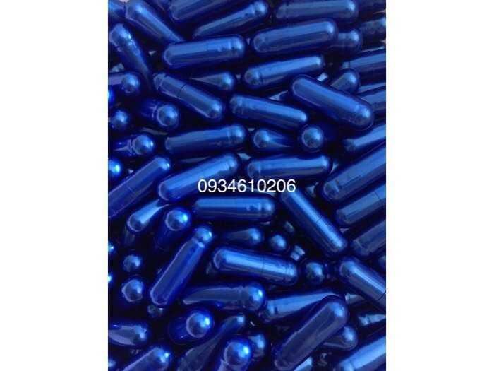 1000 vỏ nang gelatin rỗng size 0 hàng đạt chuẩn màu xanh lá3