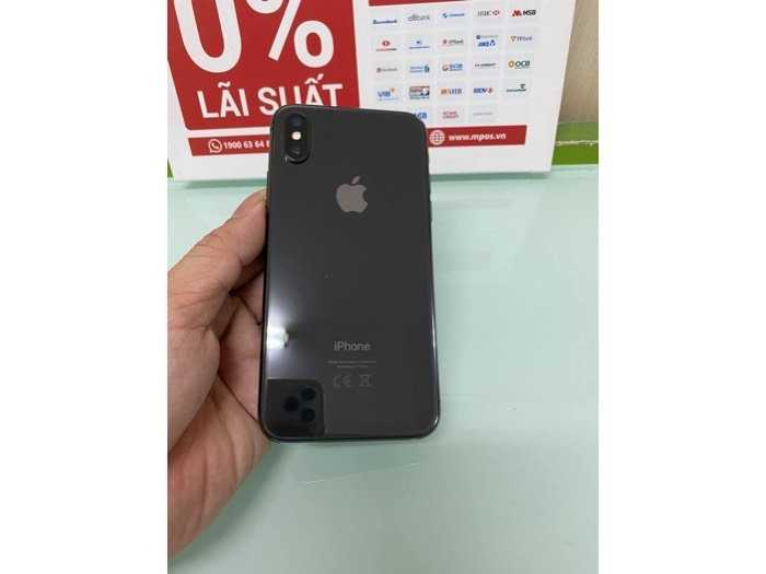 Iphone X 64gb đen lock đẹp nguyên zin1