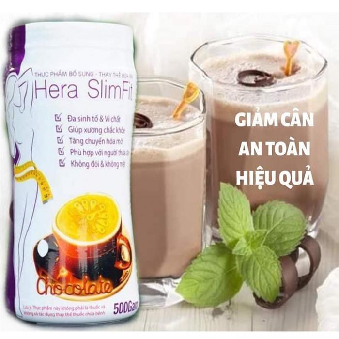 Sữa Hera Slimfit 500g - Giảm cân, Bổ sung đa vitamin và khoáng chất, Giàu chất xơ, Tăng chuyển hóa mỡ4