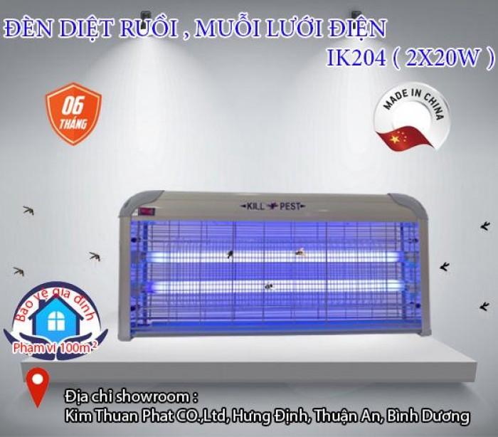 Đèn diệt côn trùng lưới điện IK-204 (2X20W)0