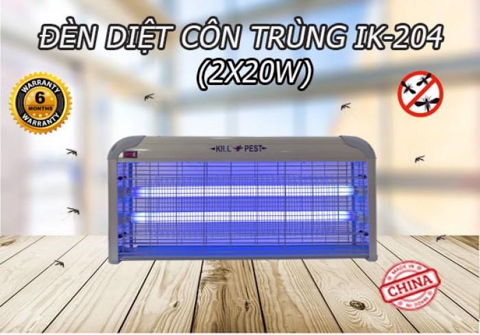 Đèn diệt côn trùng lưới điện IK-204 (2X20W)1