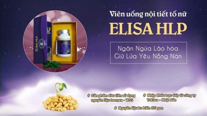 Viên uống nội tiết tố nữ Elisa HLP Nhật Bản1
